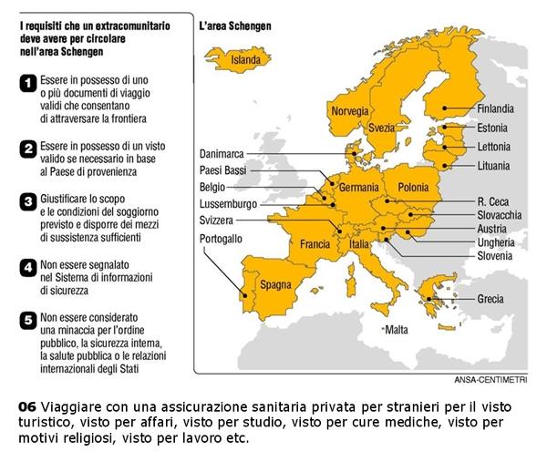Permesso Di Soggiorno Turistico : Visto turistico per l italia ingresso in gli